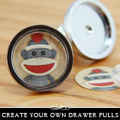 Photo drawer pulls