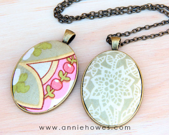 How to make cloth jewelry