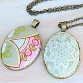 How to Make Fabric Jewelry